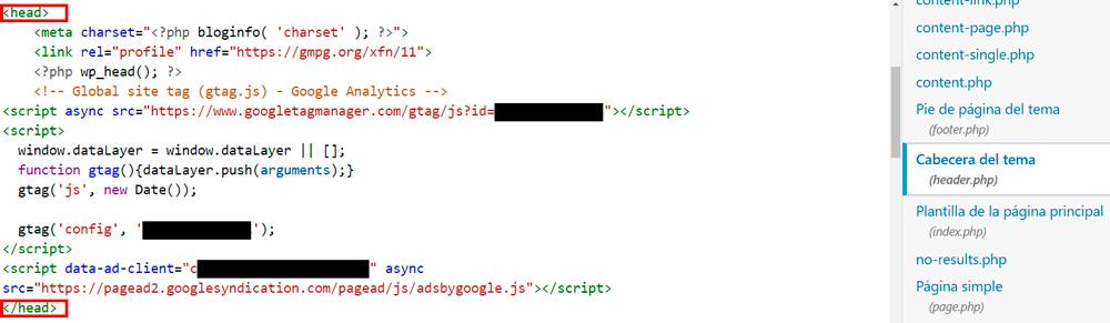 etiqueta google analytics